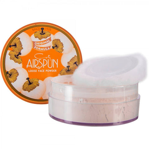 "COTY ""AIRSPUN LOOSE FACE POWDER"""