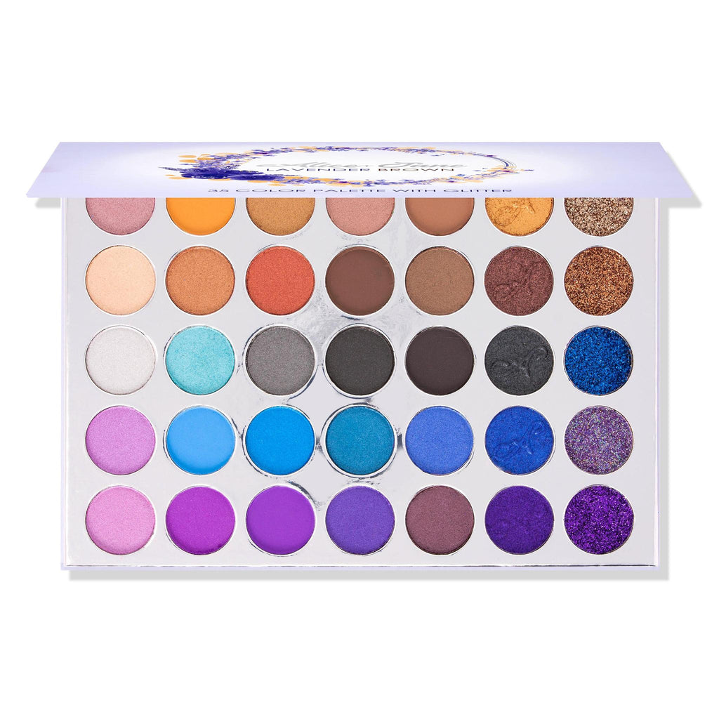 "ALICE & JANE EYESHADOWS PALETTE ""LAVENDER BROWN"""