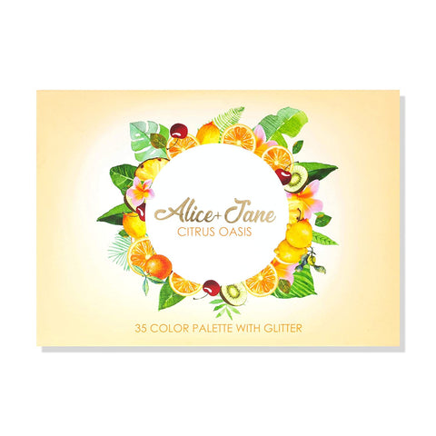 "ALICE AND JANE EYESHADOWS PALETTE ""CITRUS OASIS"""
