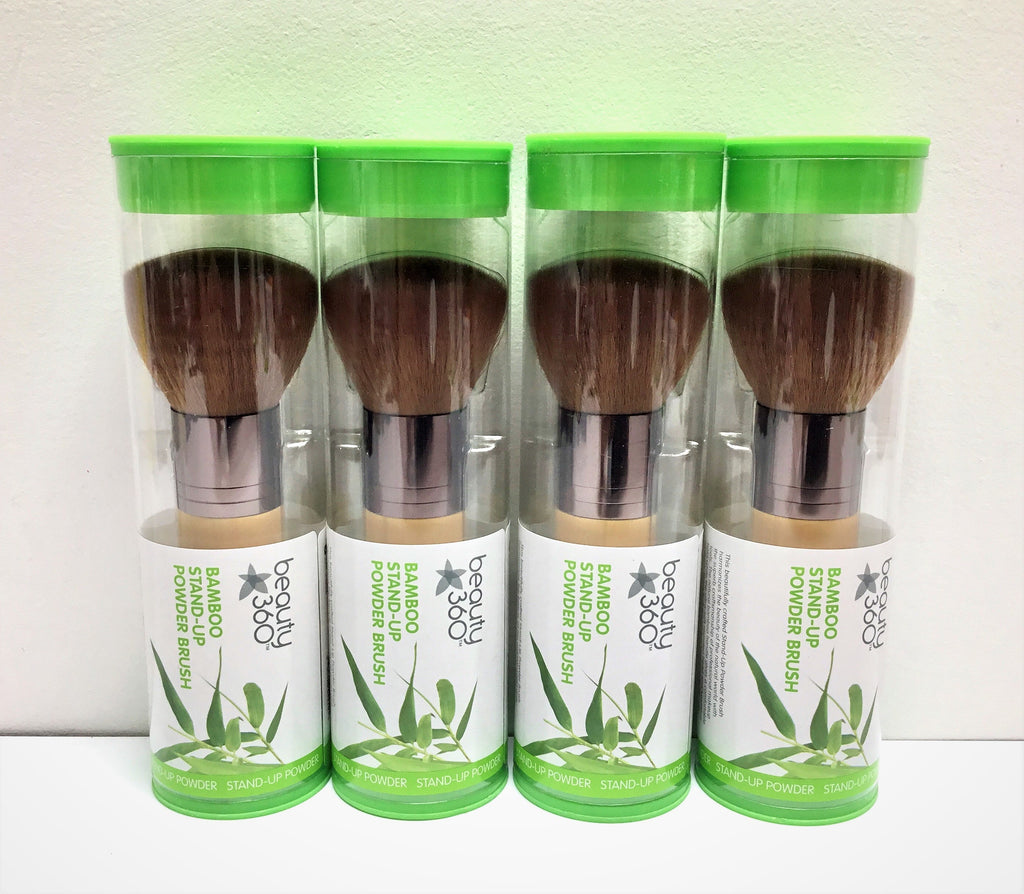 BEAUTY 360 BAMBOO STAND UP POWDER BRUSHES