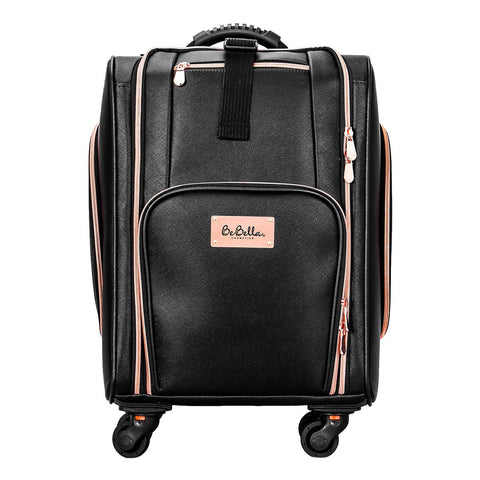 BE BELLA NYLON MAKEUP TROLLEY TRAVEL CASE