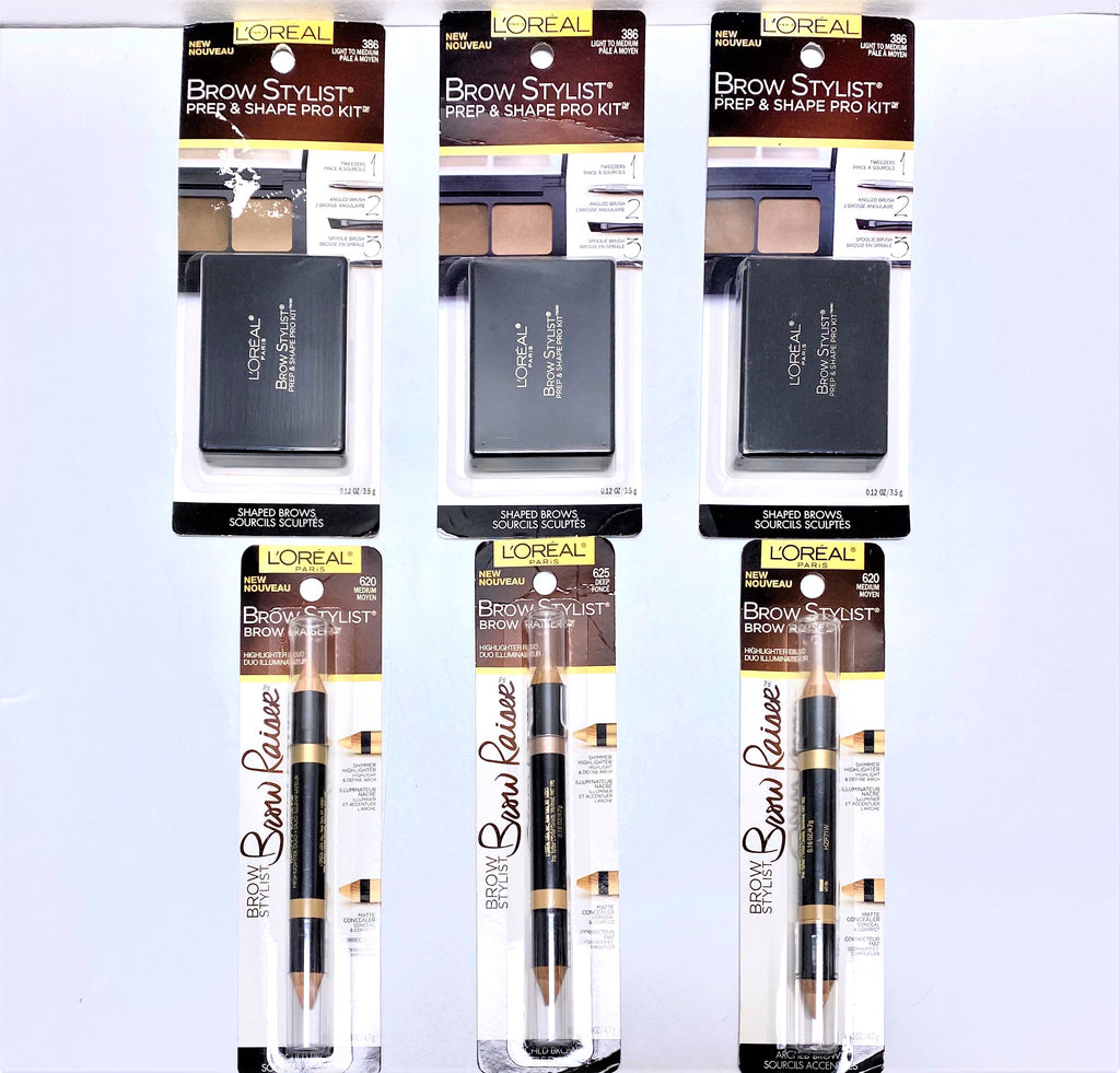 L'OREAL EYEBROWS STYLIST KIT/PENCILS