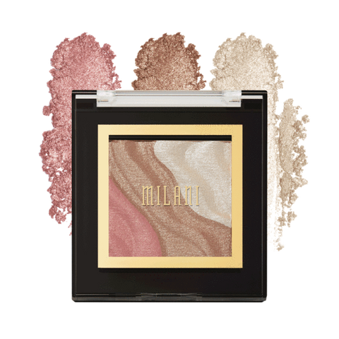 MILANI SPOTLIGHT FACE & EYE STROBE HIGHLIGHTER PALETTE