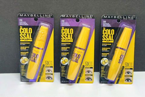 ASSORTED MAYBELLINE THE COLOSSAL MASCARAS