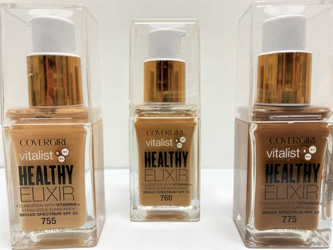 COVERGIRL VITALIST HEALTHY ELIXIR FOUNDATIONS