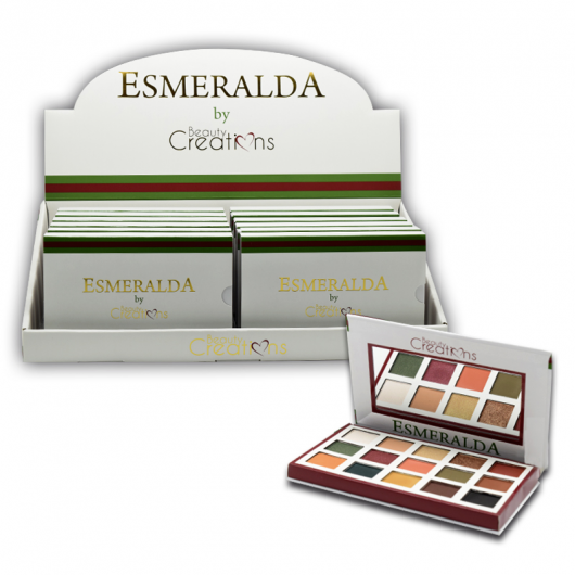BEAUTY CREATIONS ESMERALDA EYESHADOWS
