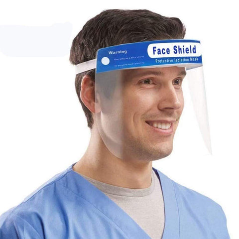 FULL COVERAGE SAFETY FACE SHIELDS