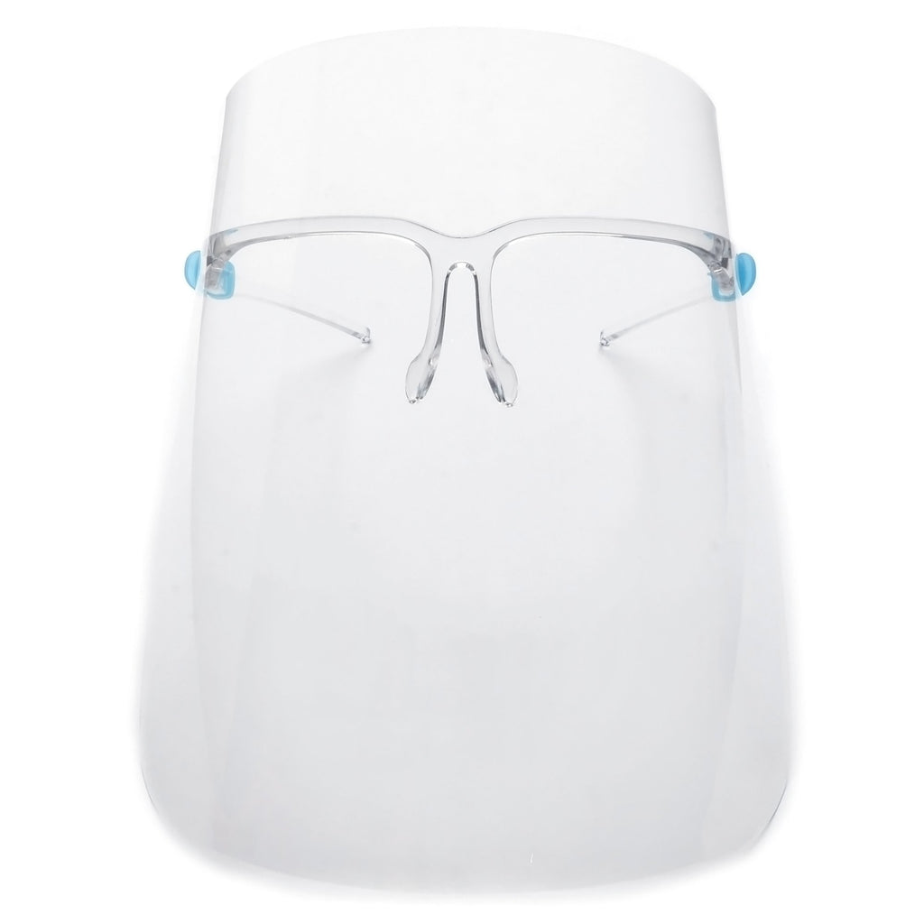FULL COVERAGE SAFETY EYEWEAR FACE SHIELDS