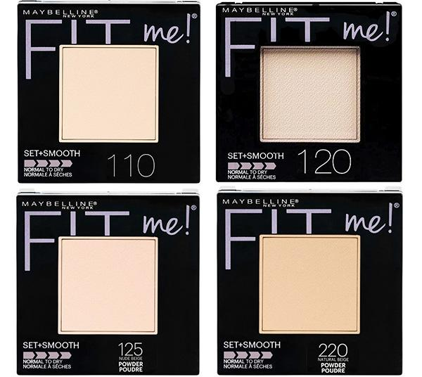 MAYBELLINE FIT ME SET + SMOOTH POWDERS