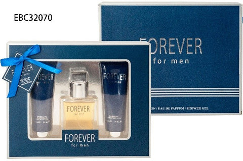 EBC FOREVER FOR MEN FRAGRANCE GIFT SET FOR MEN