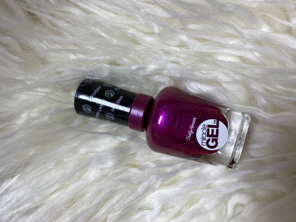 sally hansen miracle gel #520