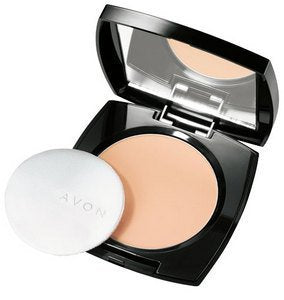 "AVON ""IDEAL FLAWLESS PRESSED POWDER"""