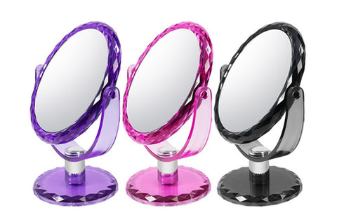 BH Cosmetics Jewel Assorted Colors Magnifying Makeup Mirror