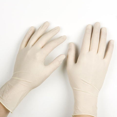 LATEX GLOVES (LARGE)