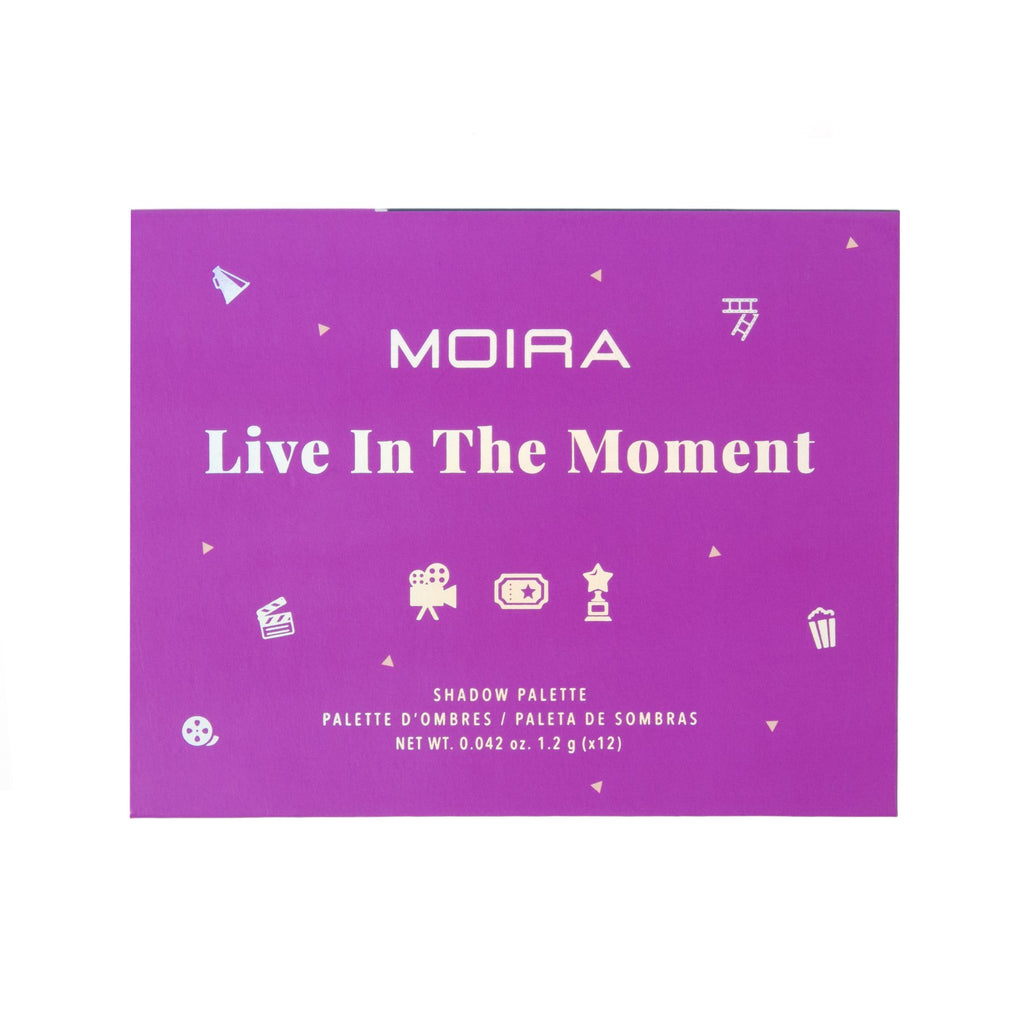 "MOIRA EYESHADOWS PALETTE ""LIVE IN THE MOMENT"""