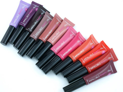 L'OREAL PARIS INFALLIBLE LIP PAINTS