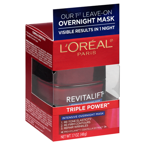 L'OREAL PARIS REVITALIFT TRIPLE POWER INTENSIVE OVERNIGHT MASK