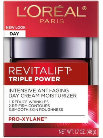 L'OREAL PARIS REVITALIFT TRIPLE POWER INTENSIVE ANTI-AGING DAY CREAM MOISTURIZER PRO-XYLANE