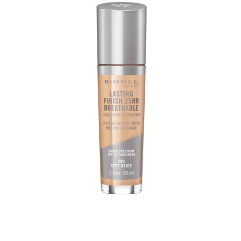 "RIMMEL LONDON ""LASTING FINISH 25HR BREATHABLE FOUNDATION"""