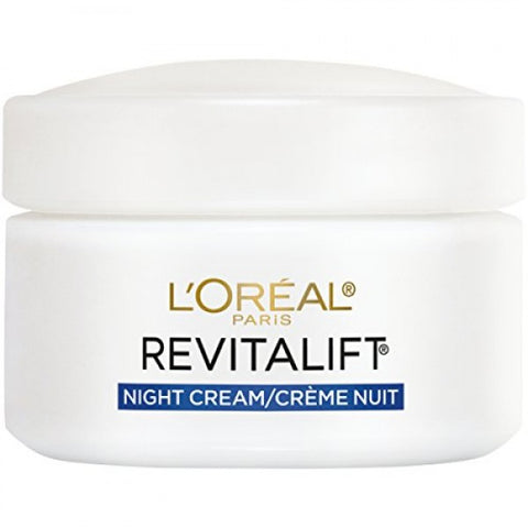 L'OREAL REVITALIFT ANTI-WRINKLE + FIRMING NIGHT MOISTURIZER