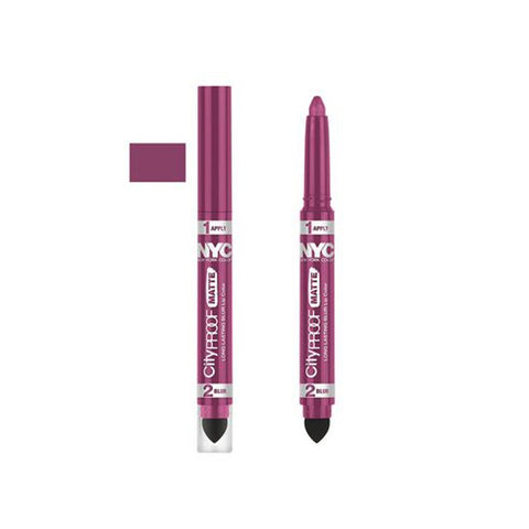 "NYC CITY PROOF MATTE BLUR LIP COLOR ""PINK CITY"""