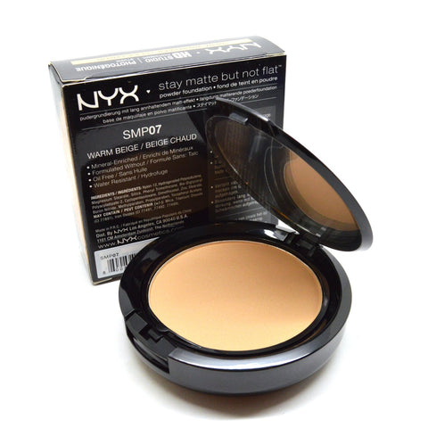 NYX PROFESSIONAL MAKEUP STAY MATTE POWDER FOUNDATION