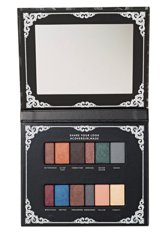 "COVERGIRL ""OVERTHROWN EYESHADOW PALETTE"""