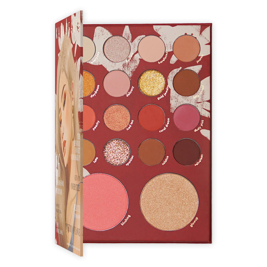 "KARA BEAUTY EYESHADOWS PALETTE ""POETRY OF LOVE"""