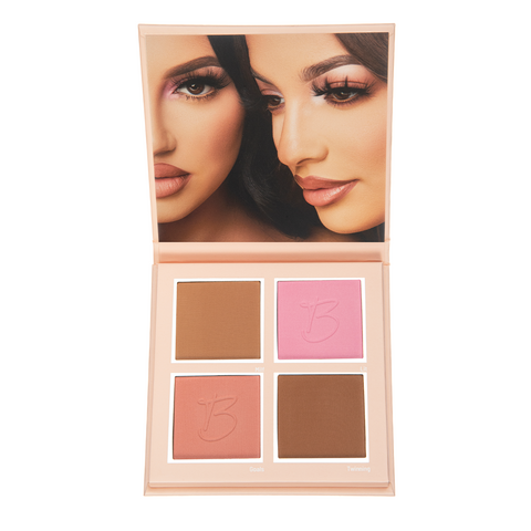 BEAUTY CREATIONS X MURILLO TWINS QUAD GOALS BRONZER & BLUSH PALETTE