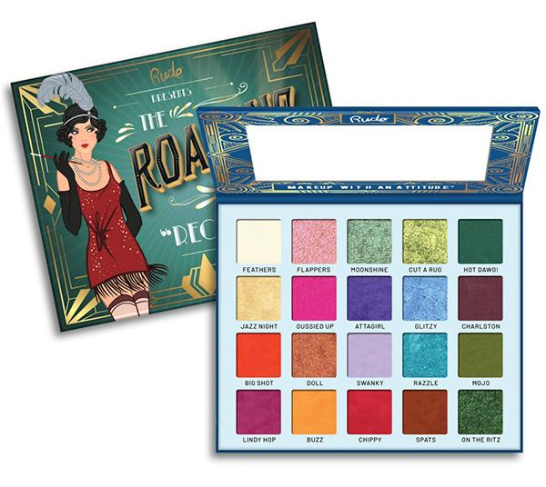 "RUDE EYESHADOWS PALETTE ""THE ROARING 20'S - RECKLESS"""