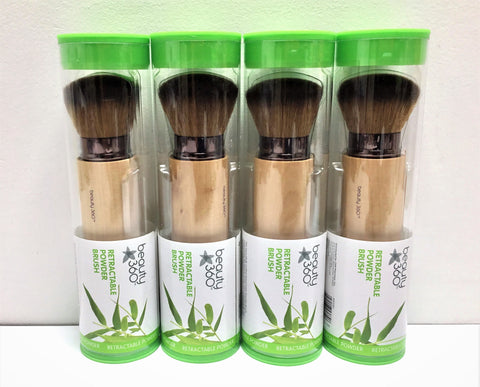 BEAUTY 360 BAMBOO RETRACTABLE POWDER BRUSHES