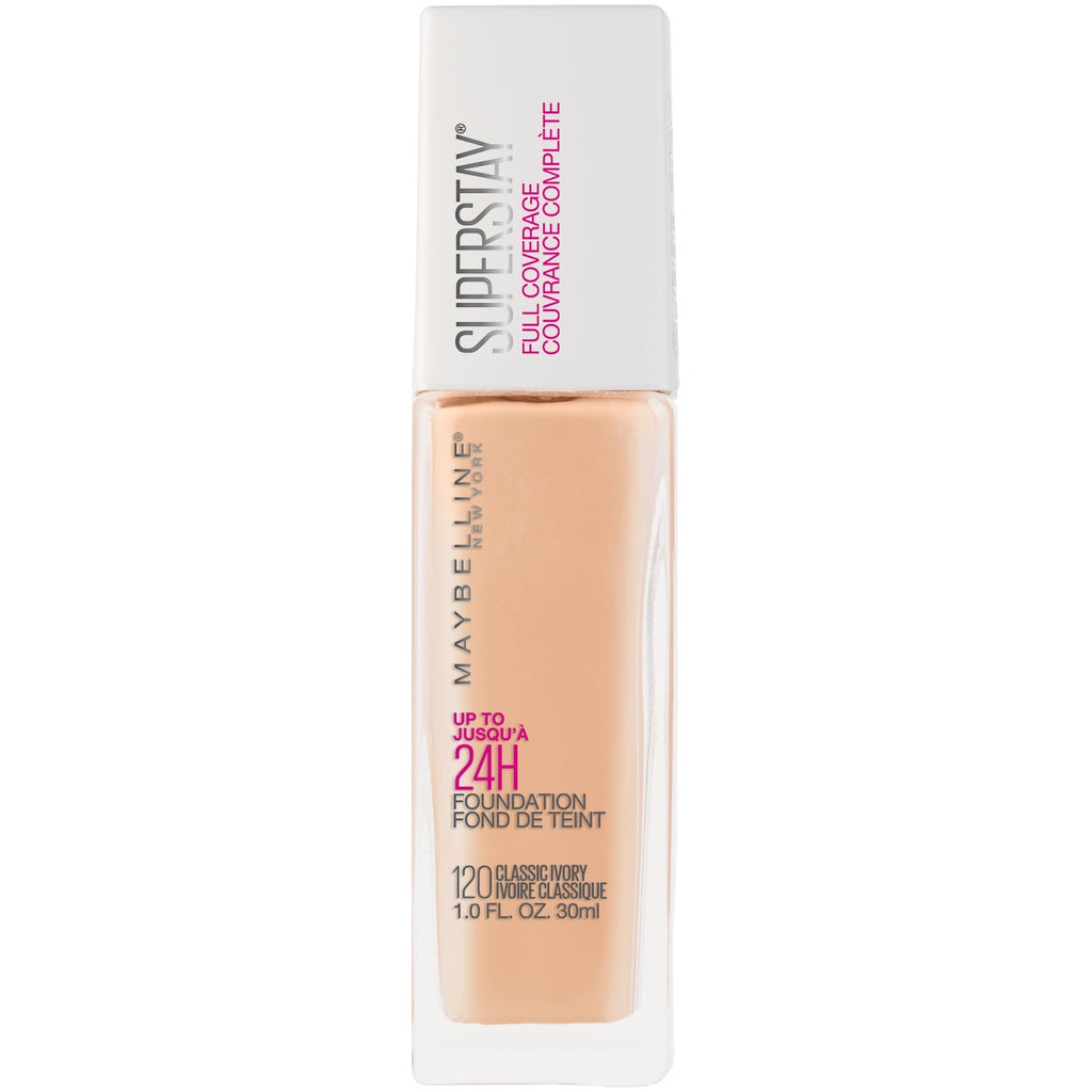 "MAYBELLINE ""SUPERSTAY FULL COVERAGE FOUNDATION"""