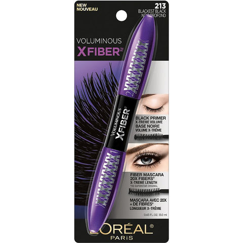 "L'ORÉAL ""VOLUMINOUS X FIBER MASCARA"""
