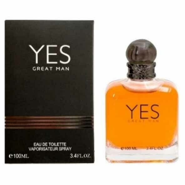 EBC YES GREAT MAN PERFUME