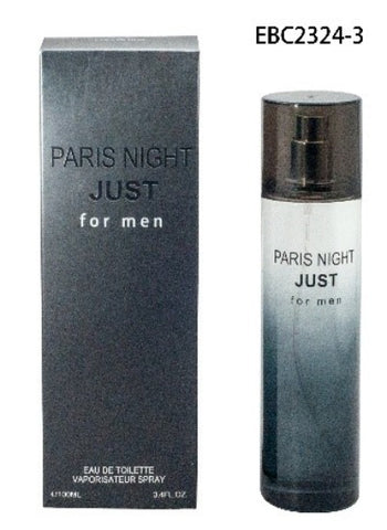 EBC PARIS NIGHT JUST FRAGRANCE FOR MEN