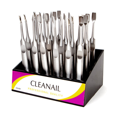 Cleanail 24 Pc Cuticle Pusher