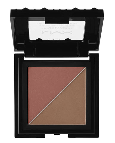 "NYX ""WINE & DINE-CHEEK CONTOUR DUO PALETTE"""