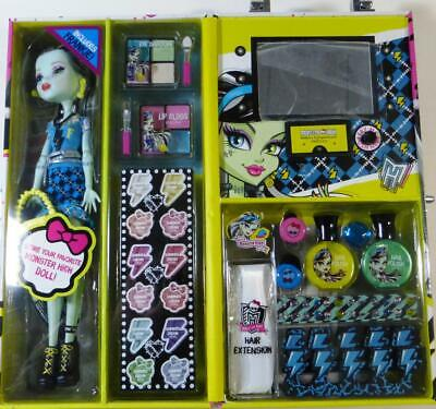 MONSTER HIGH DOLL CASE & FRANKIE DOLL