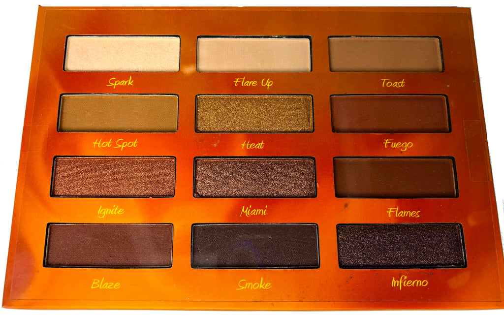 Beauty Creations Hot Fire Eyeshadows