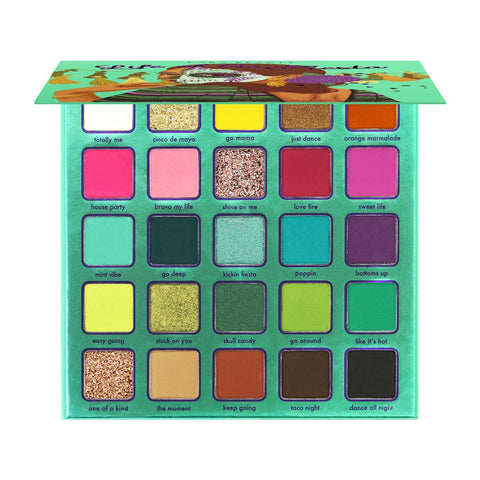 "KARA BEAUTY EYESHADOWS PALETTE ""LIFE OF THE FIESTA"""