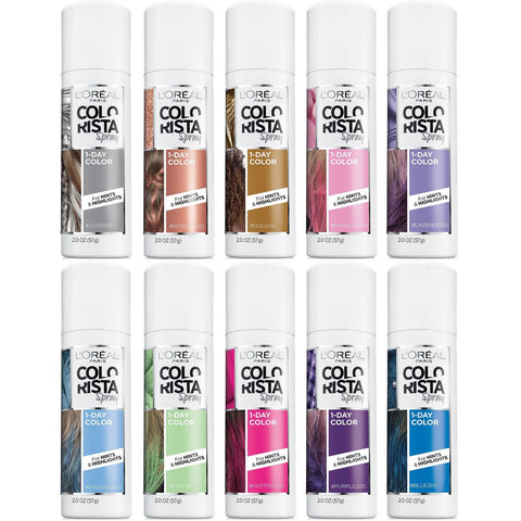 L'OREAL COLORISTA SPRAY 1-DAY COLOR