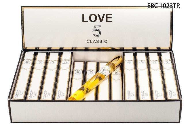 EBC LOVE 5 CLASSIC TRAVEL SIZE PINK WOMEN FRAGRANCES