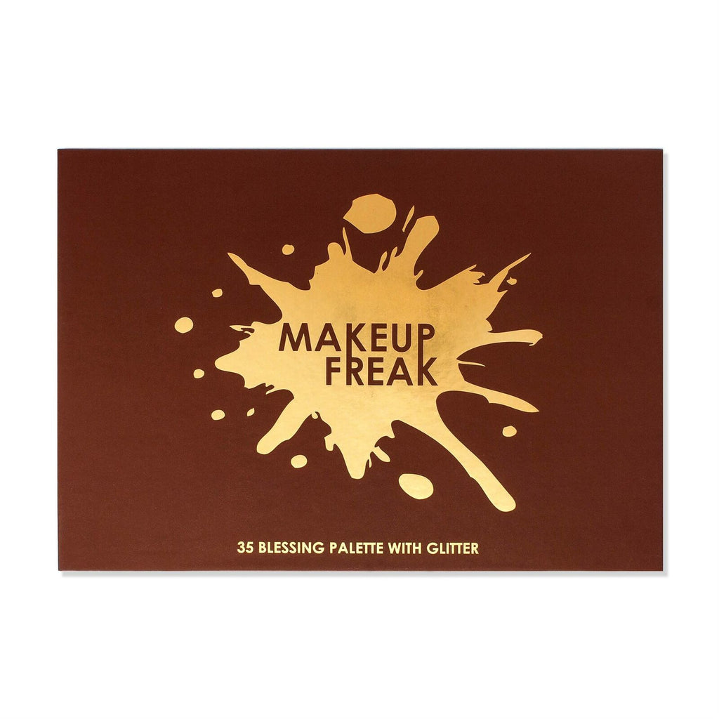 "MAKEUP FREAK 35 EYESHADOWS PALETTE WITH GLITTER ""BLESSING"""