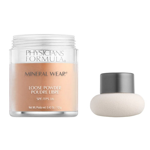 "PHYSICIANS FORMULA ""MINERAL WEAR LOOSE POWDER SPF 16"""