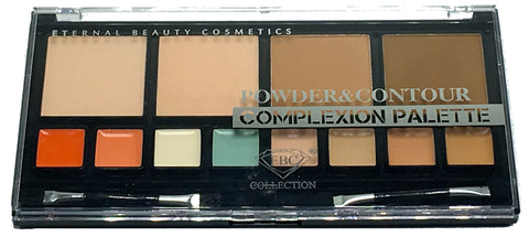 EBC COLLECTION POWDER and CONTOUR COMPLEXION PALETTE