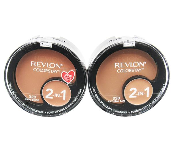 Wholesale Revlon Colorstay 2-IN-1 Compact Makeup and Concealer