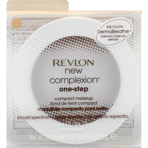 "REVLON ""NEW COMPLEXION ONE-STEP COMPACT MAKEUP"""