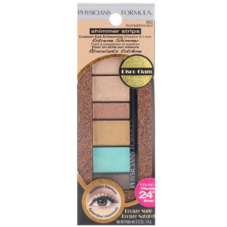 "PHYSICIANS FORMULA ""SHIMMER STRIPS SHADOW AND LINER BRONZE NUDE/BRONZE NATUREL"""