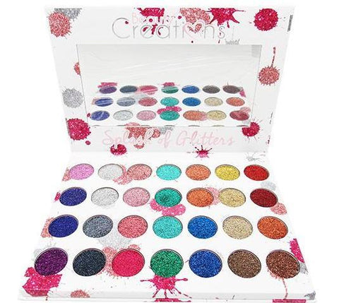 Beauty Creations 28 Color Splash of Glitters Eyeshadows #1