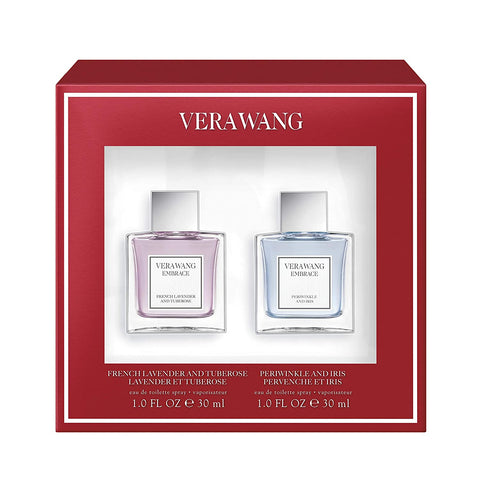 "VERAWANG EMBRACE ""FRENCH LAVENDER AND TUBEROSE AND PERIWINKLE AND IRIS PERVENCHE ET IRIS"""